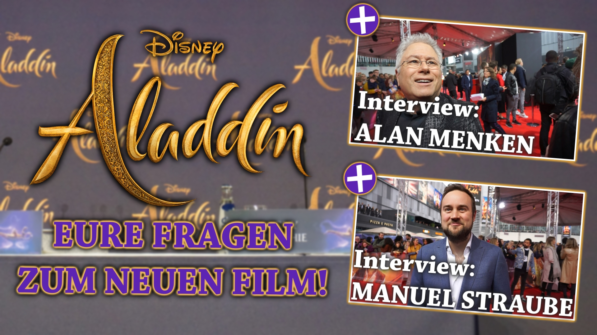 Aladdin Interviews & Eure Fragen