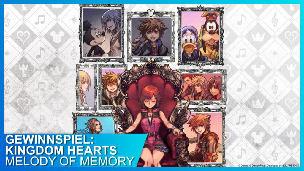 KINGDOM HEARTS Melody of Memory Gewinnspiel