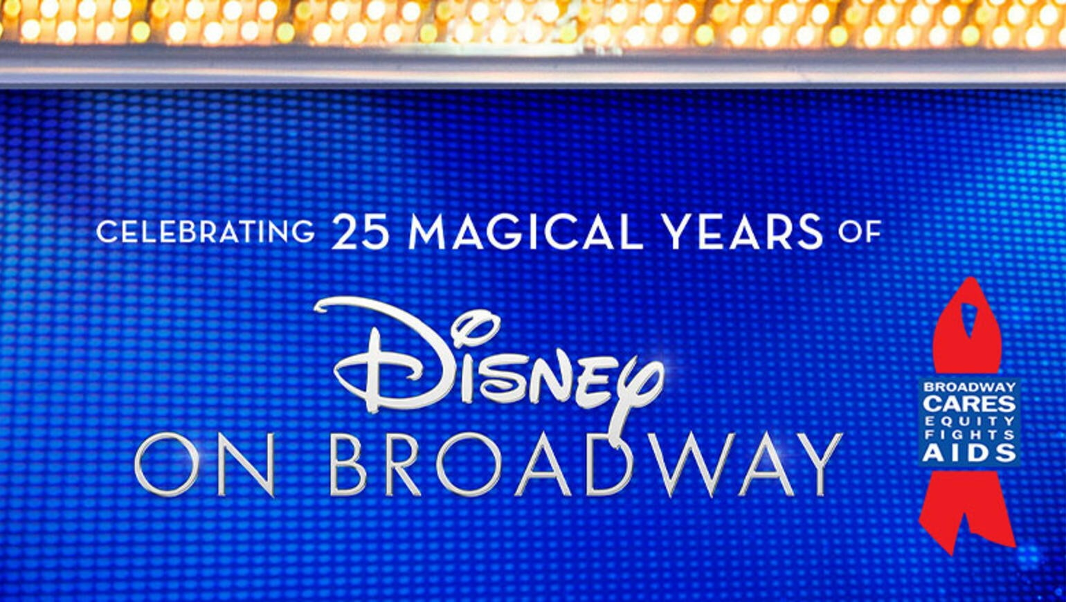 Celebrating 25 Years of Disney on Broadway