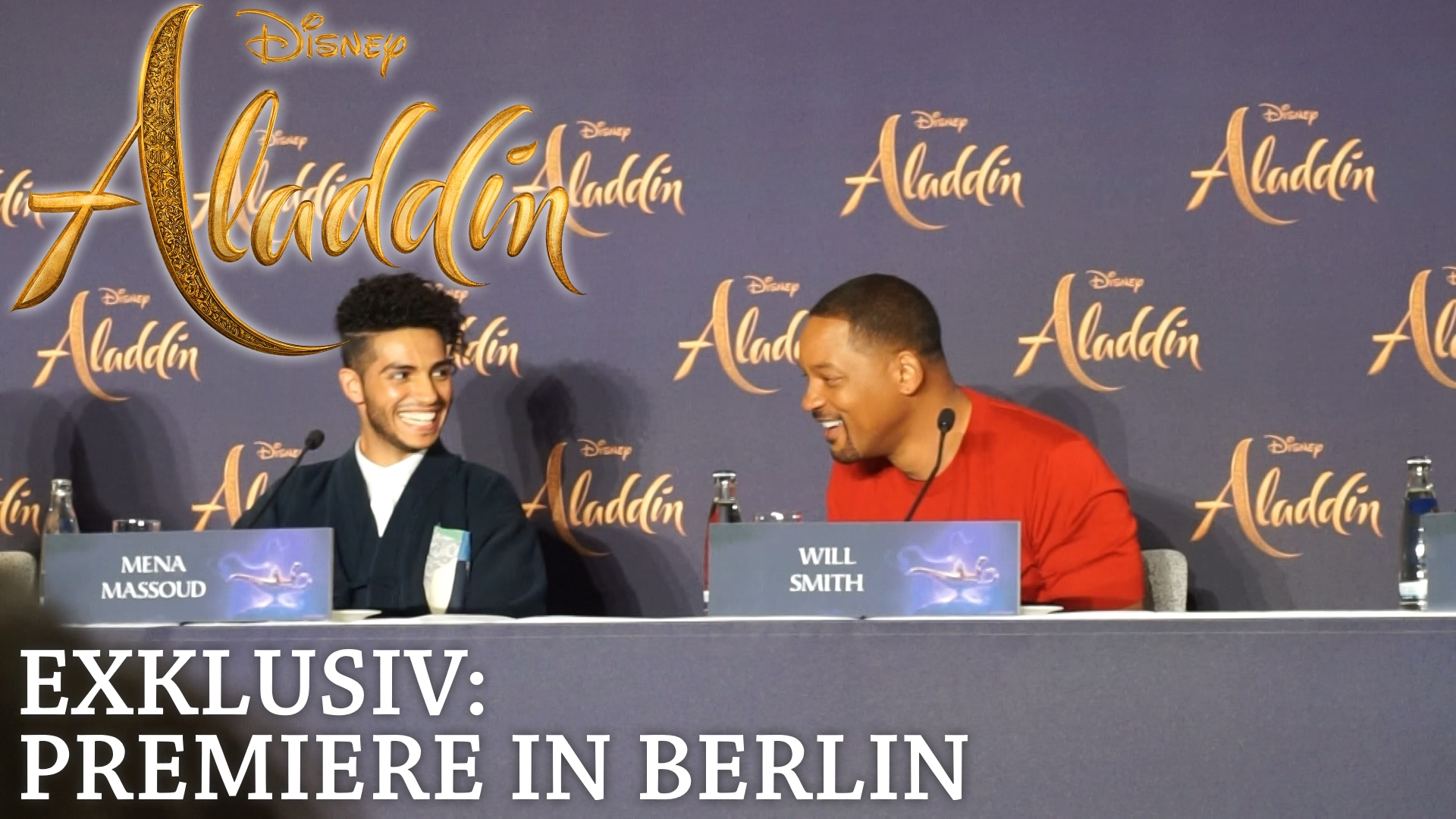 Aladdin Premiere in Berlin