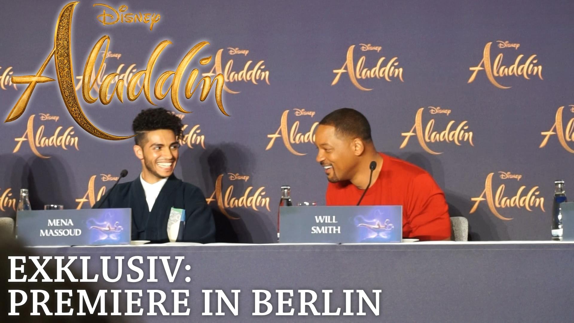 Aladdin Premiere in Berlin