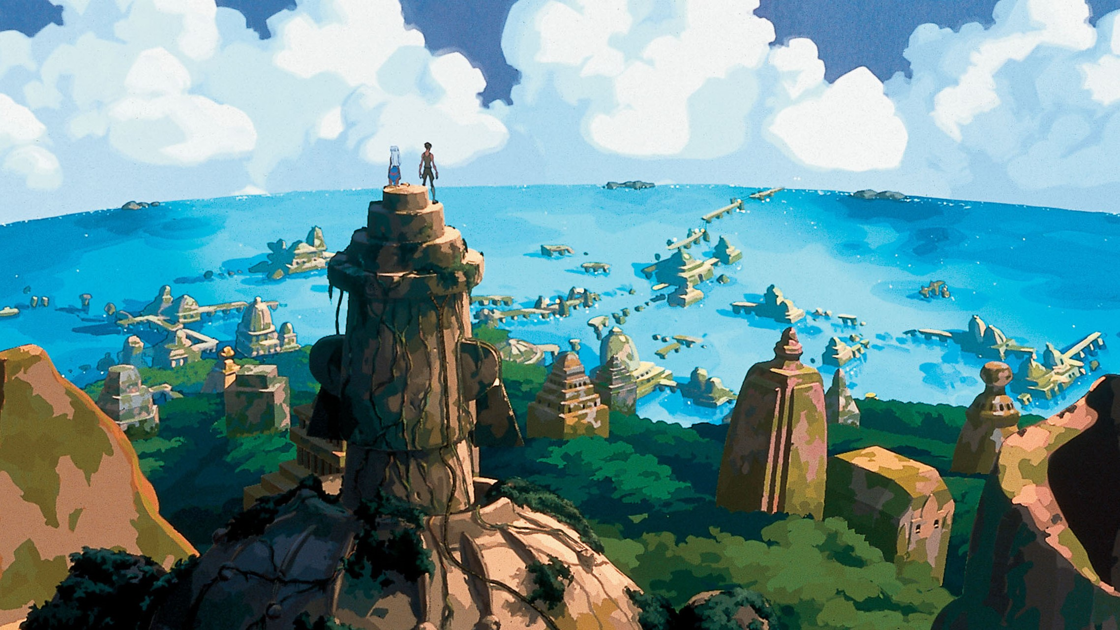 Szene aus Atlantis - Das Geheimnis der verlorenen Stadt