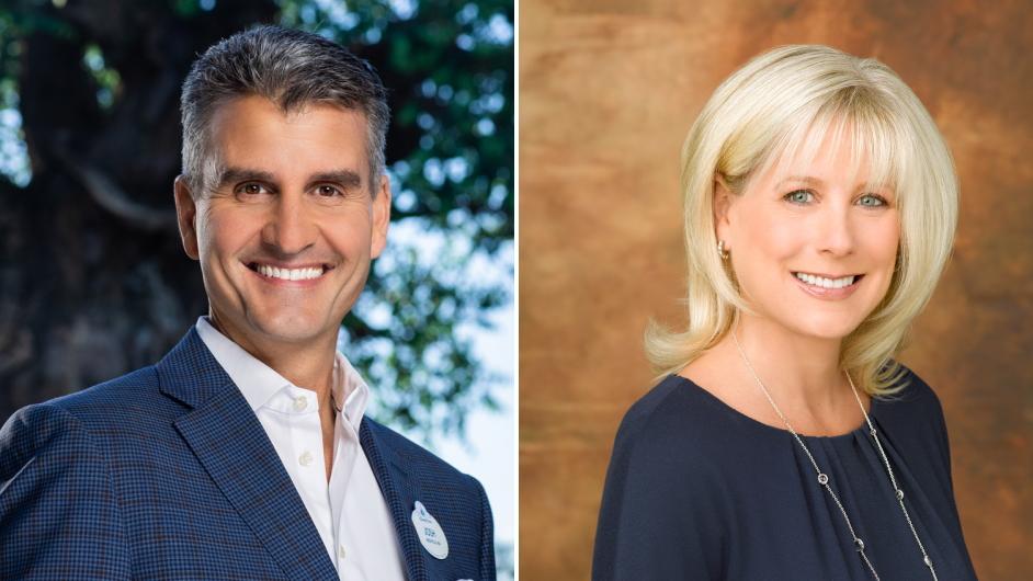 Josh D'Amaro und Rebecca Campbell