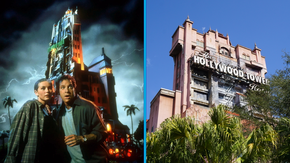 Tower of Terror Film und Attraktion