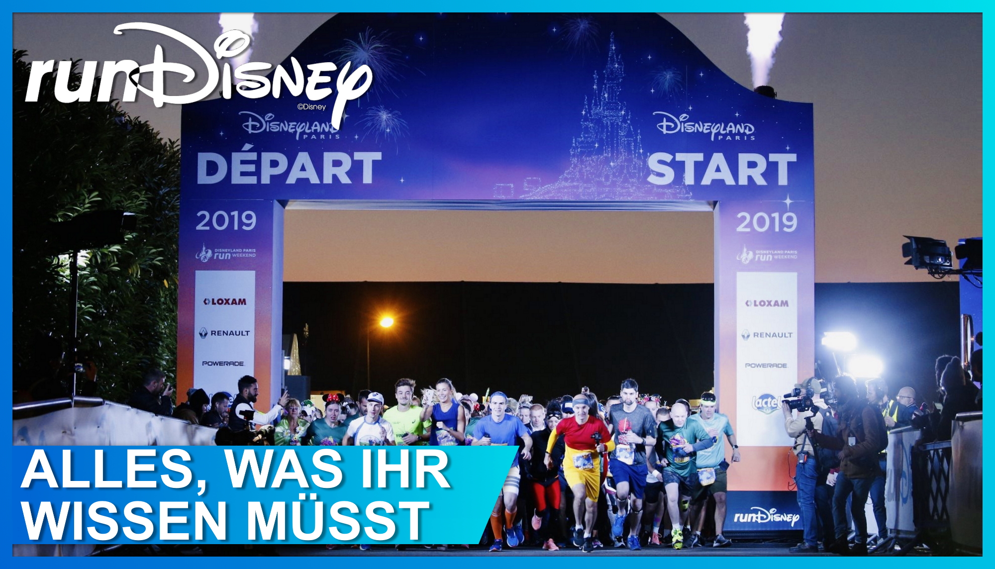 runDisney Disneyland Paris Half Marathon Weekend Start 2019