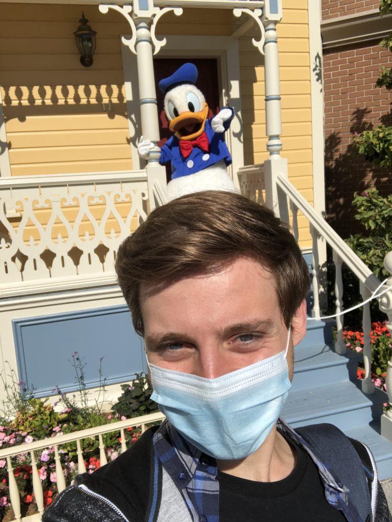 DLP Selfie Spot with Donald Duck