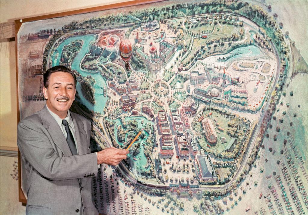Walt Disney zeigt den TV-Publikum seinen Park (1954)