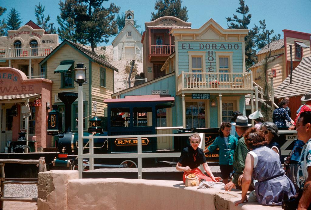 Rainbow Ridge mining town in Disneyland