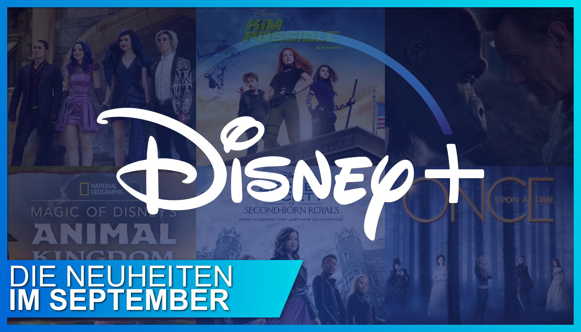 Disney+ Neuheiten September