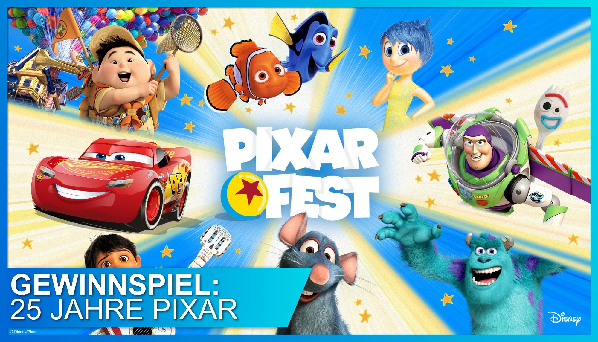 PIXAR FEST - 25 Jahre Woody, Buzz, und Co.