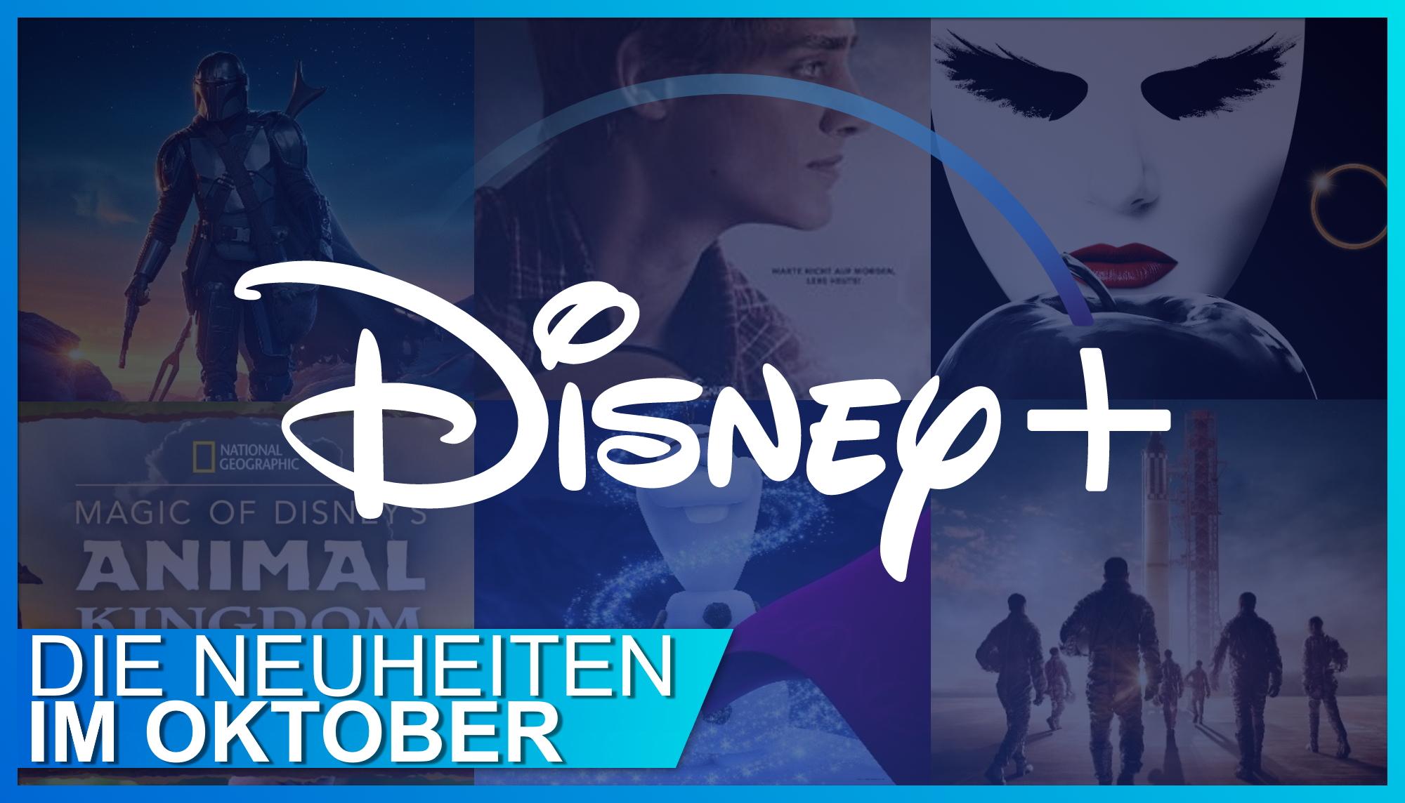 Oktober: Die Disney+ Neustarts