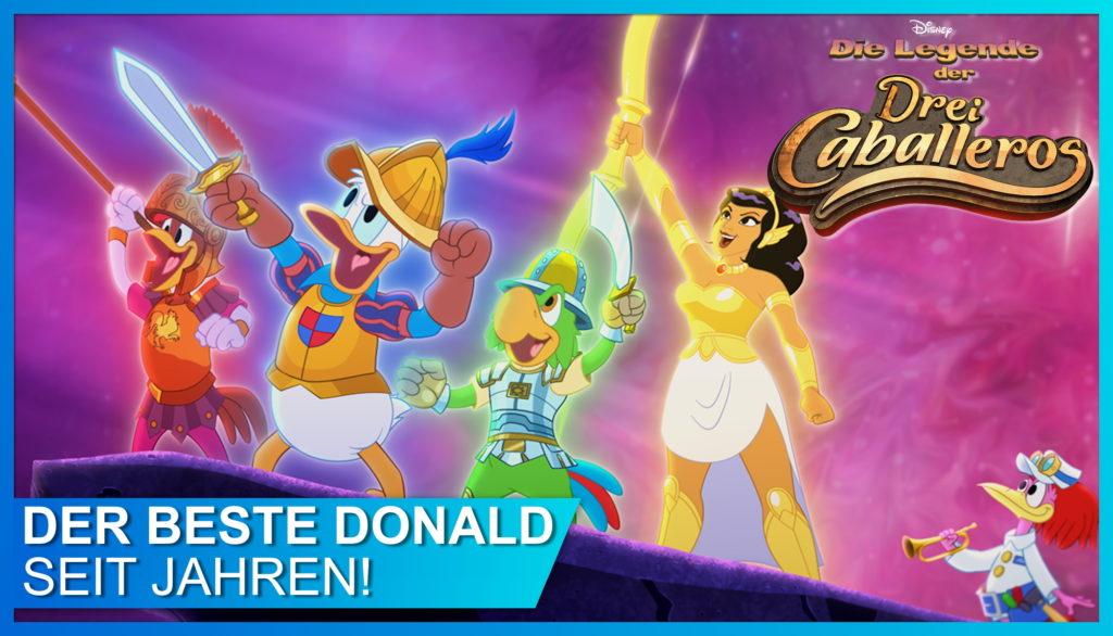 Legende der Drei Caballeros Titelbild