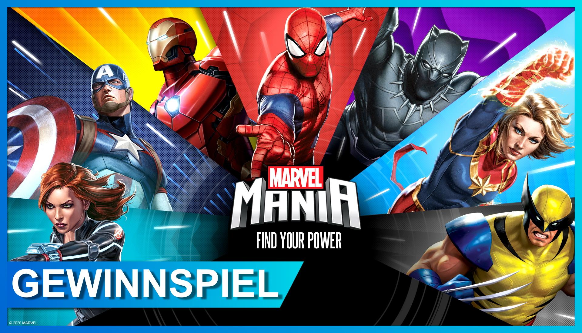 Marvel Mania Gewinnspiel