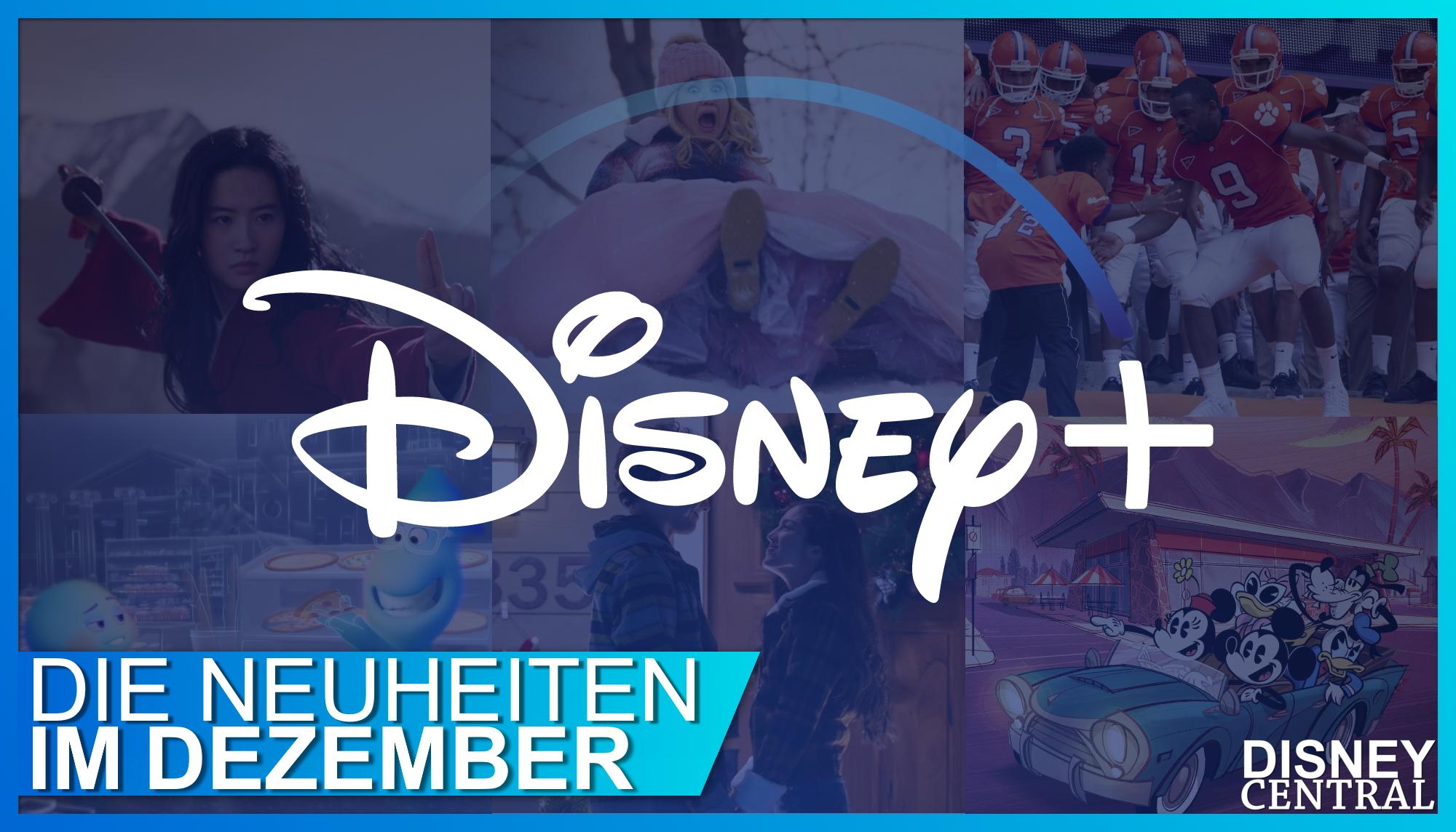 Disney+ Neuheiten Dezember