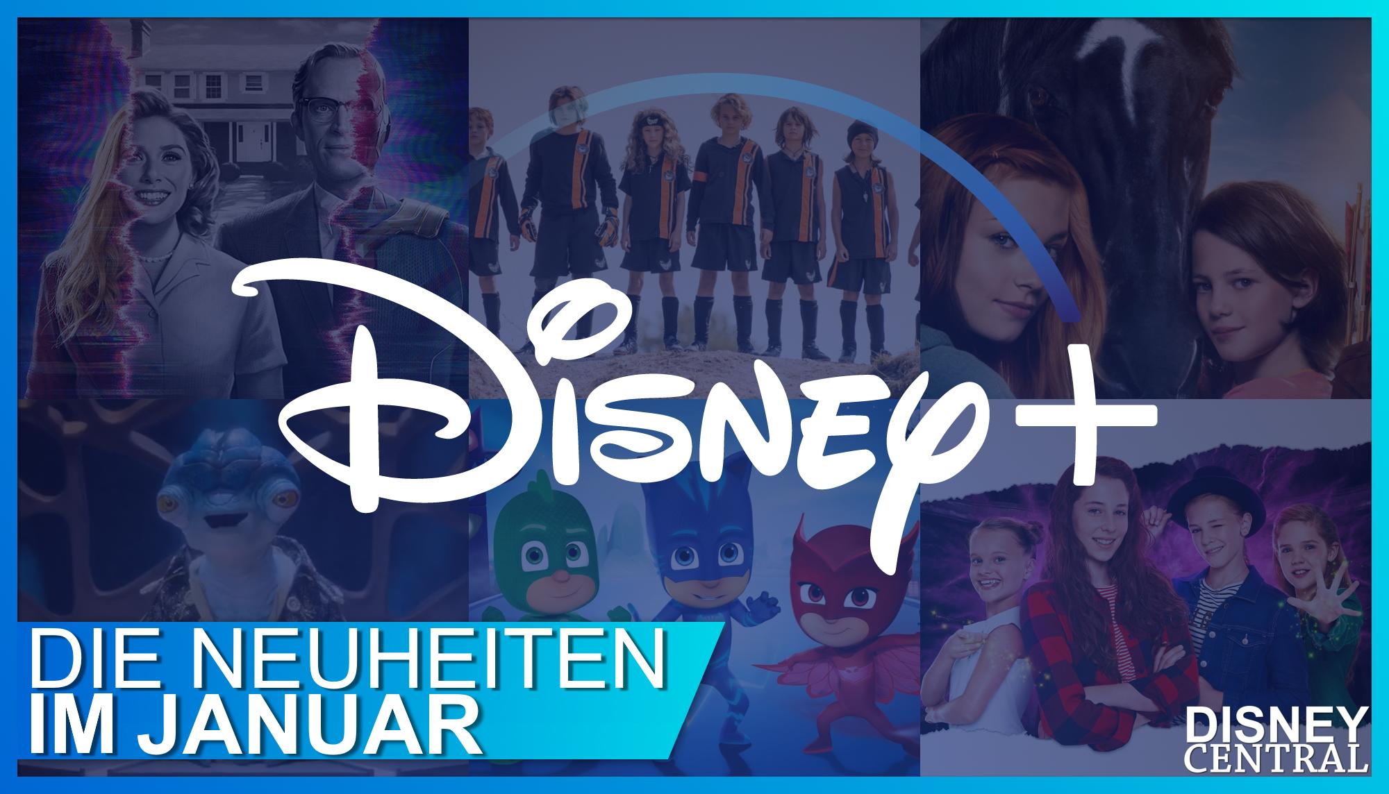 Disney+ Neustarts Januar 2021