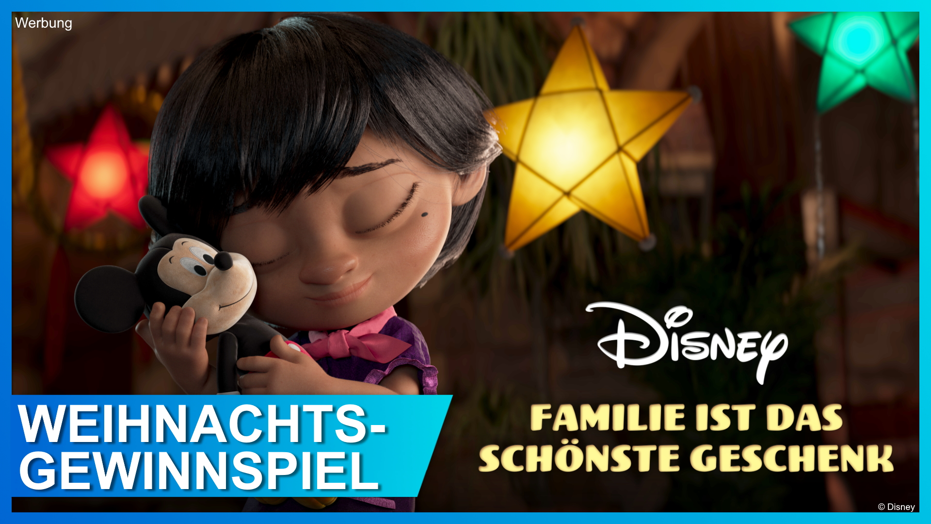 Disney Familie ist das schönste Geschenk