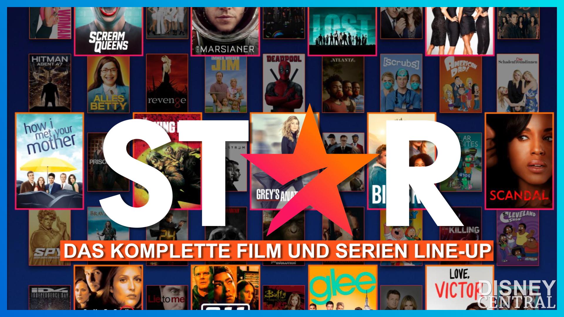 Alle Star Serien und Filme bei Disney+