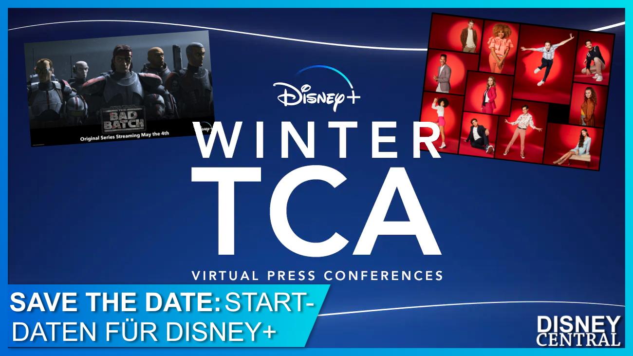 Disney+ Winter TCA Serien Ankündigungen