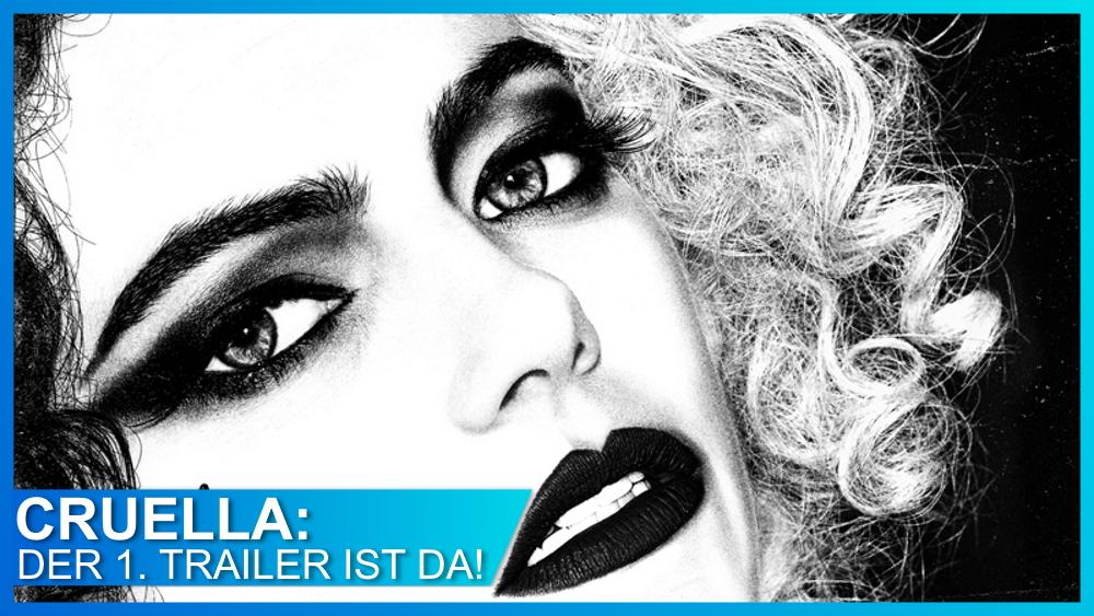 Emma Stone als Live Action Cruella: Der erste Trailer ist da!