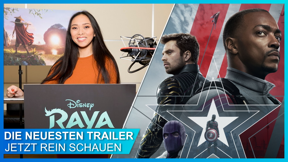 Neue Trailer zu Raya und Falcon and Winter Soldier