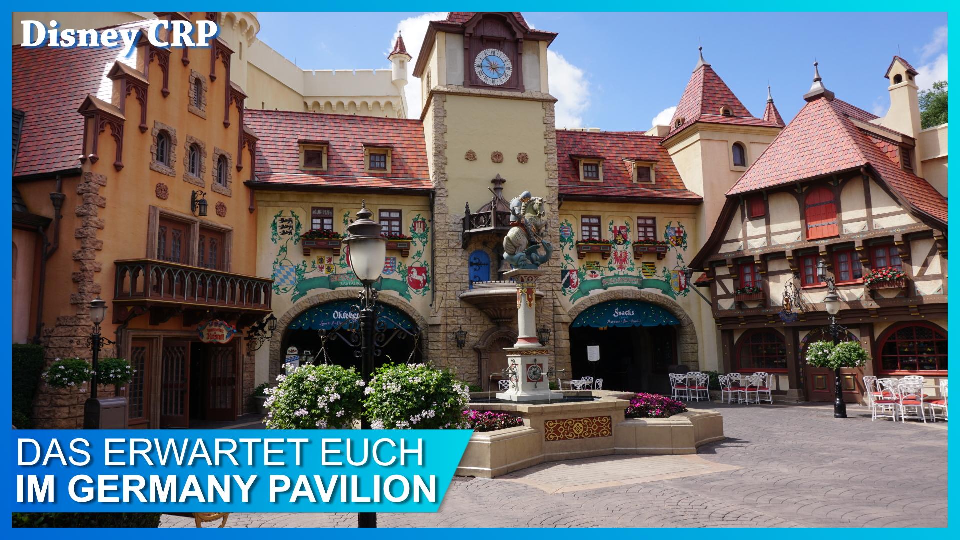 Germany Pavilion in EPCOT Deutschland