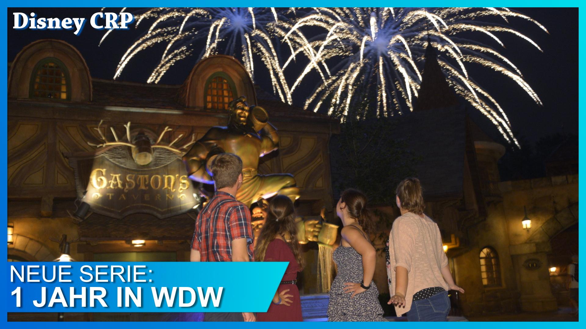 Feuerwerk über dem Magic Kingdom