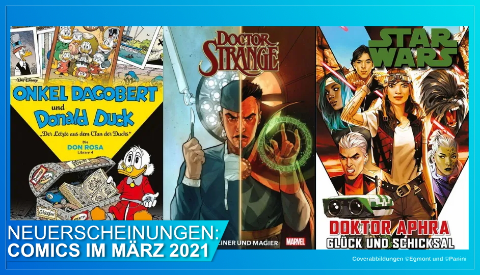 Disney Comics März 2021