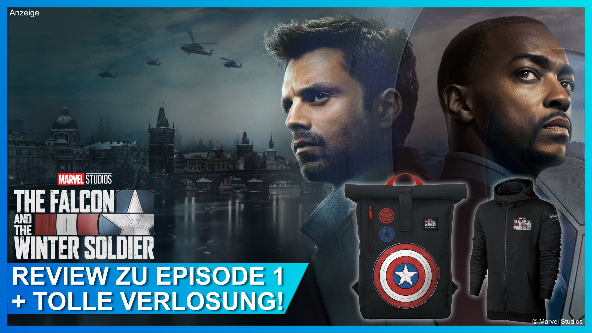 Falcon and Winter Soldier Folge 1 Rezension