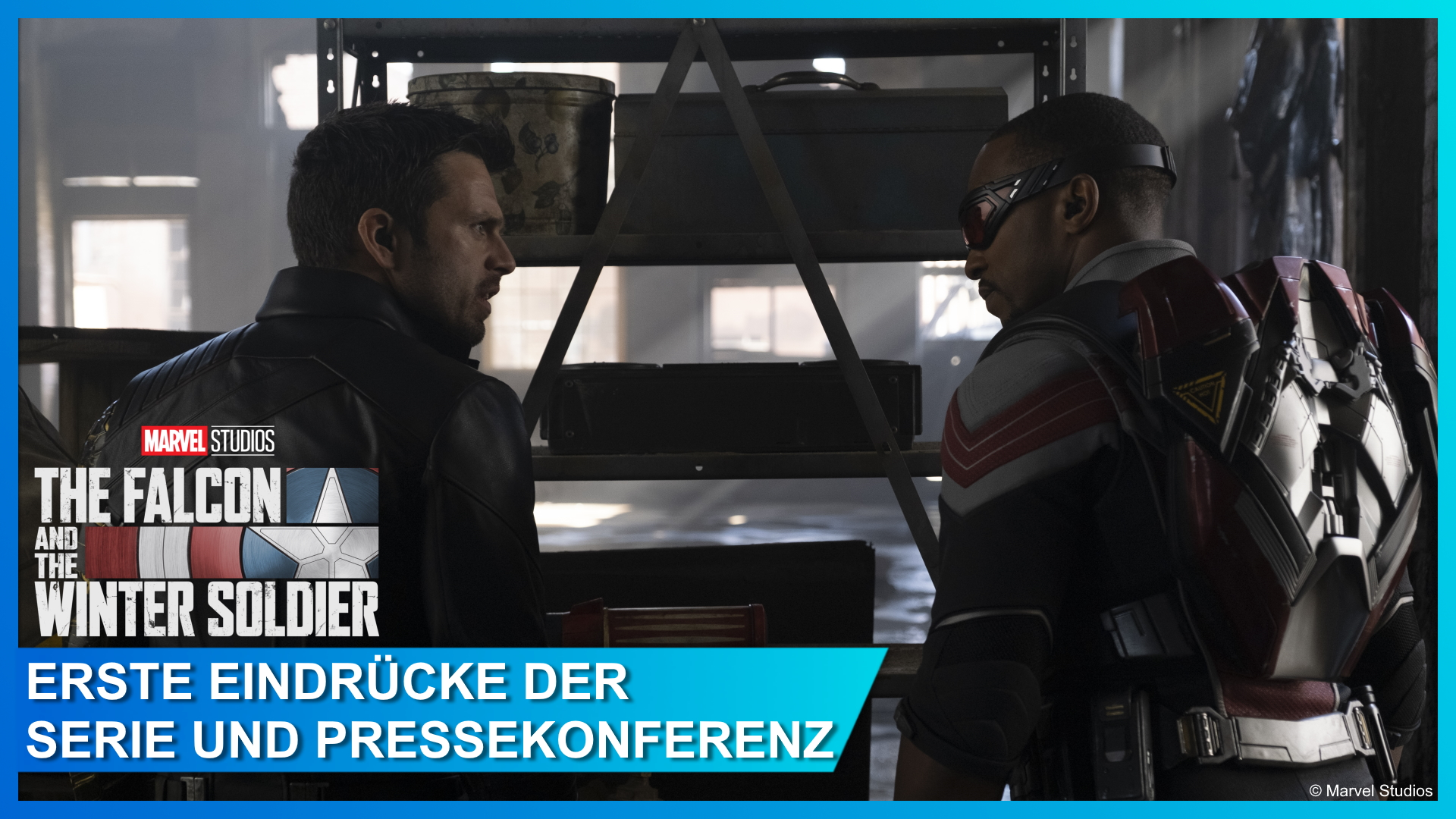 Pressekonferenz zu Falcon and the Winter Soldier