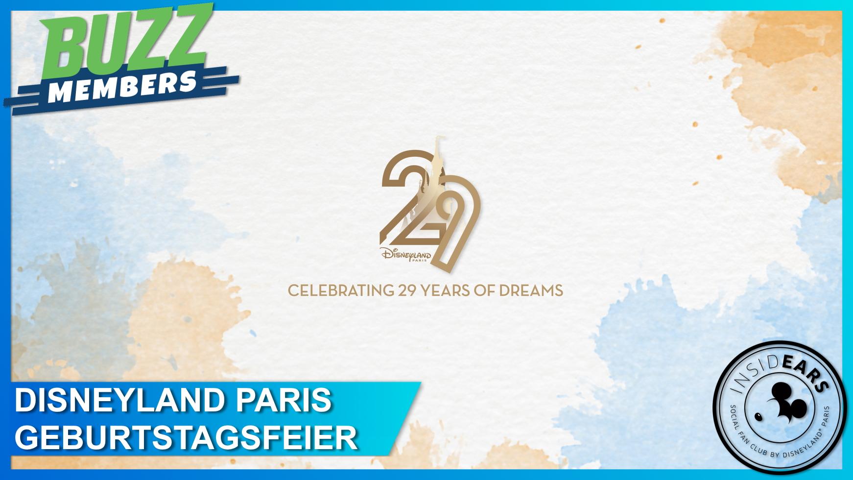 Disneyland Paris virtuelle Geburtstagsfeier 29