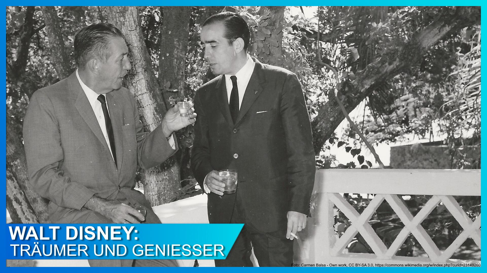 Walt Disney und sein liebster Whisky
