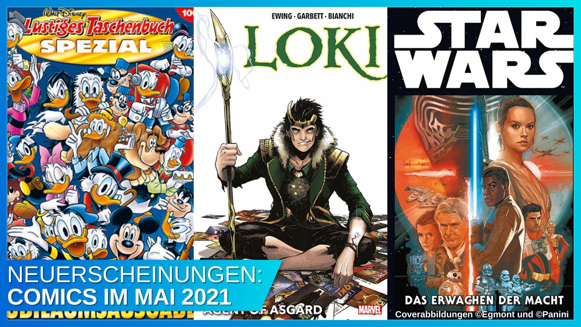 Coverbild Blogbeitrag Comics 05 2021 mit Banner