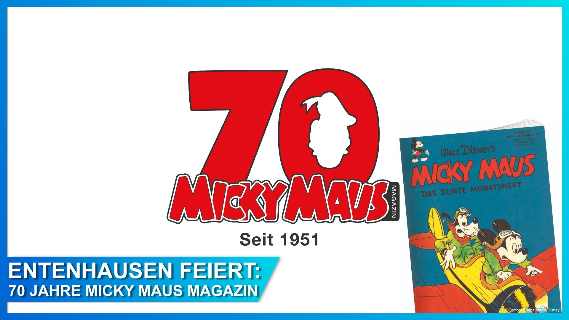 70 Jahre Micky Maus Magazin