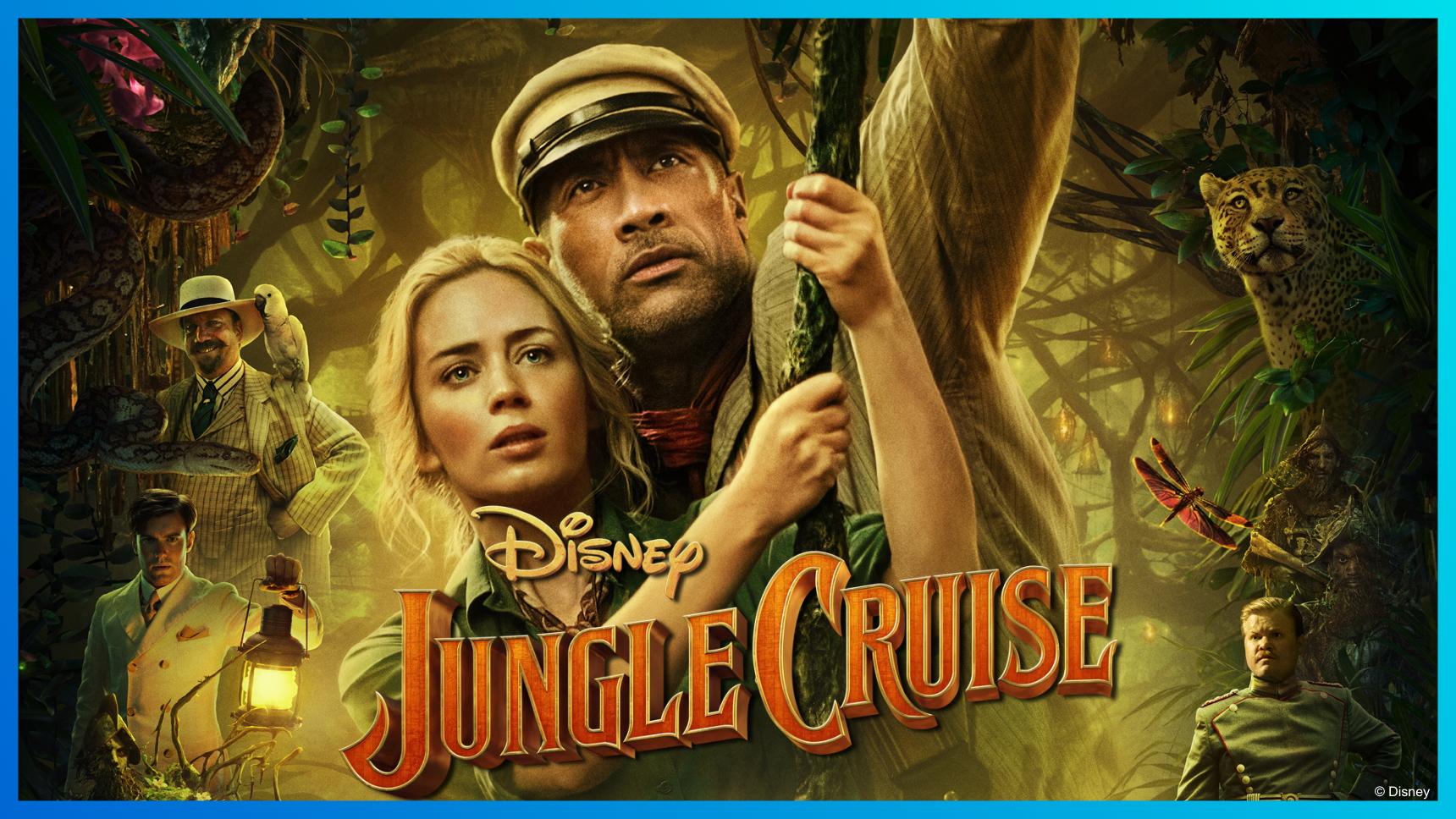 Jungle Cruise Poster