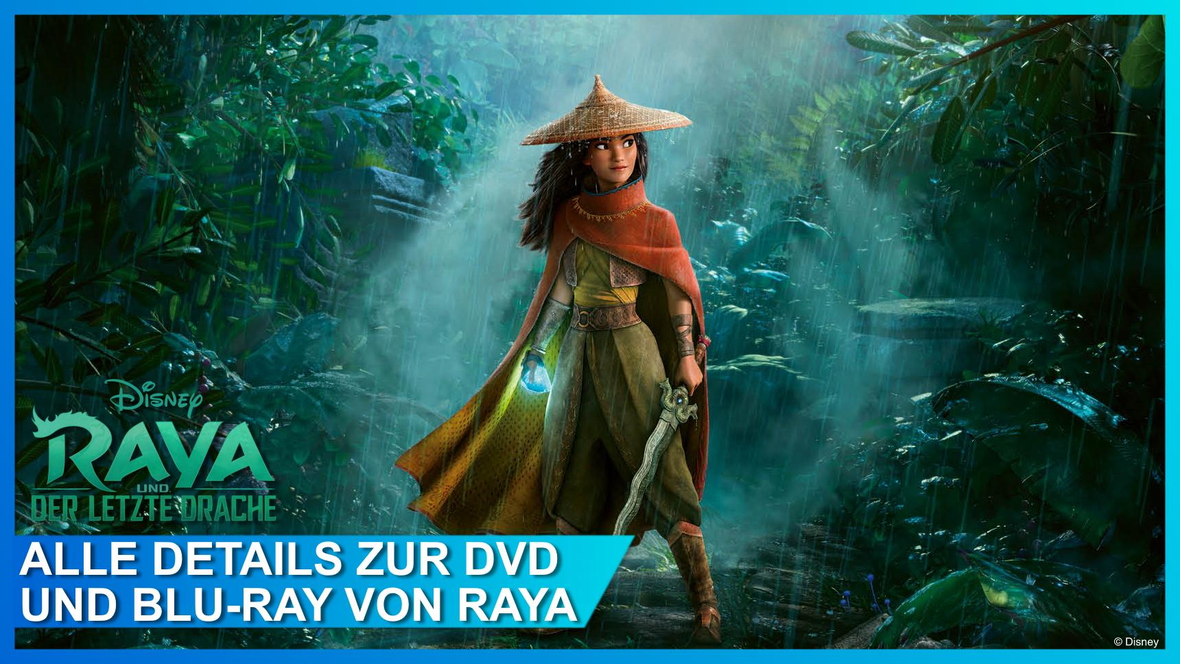 Raya und der letzte Drache DVD und Blu-ray Details