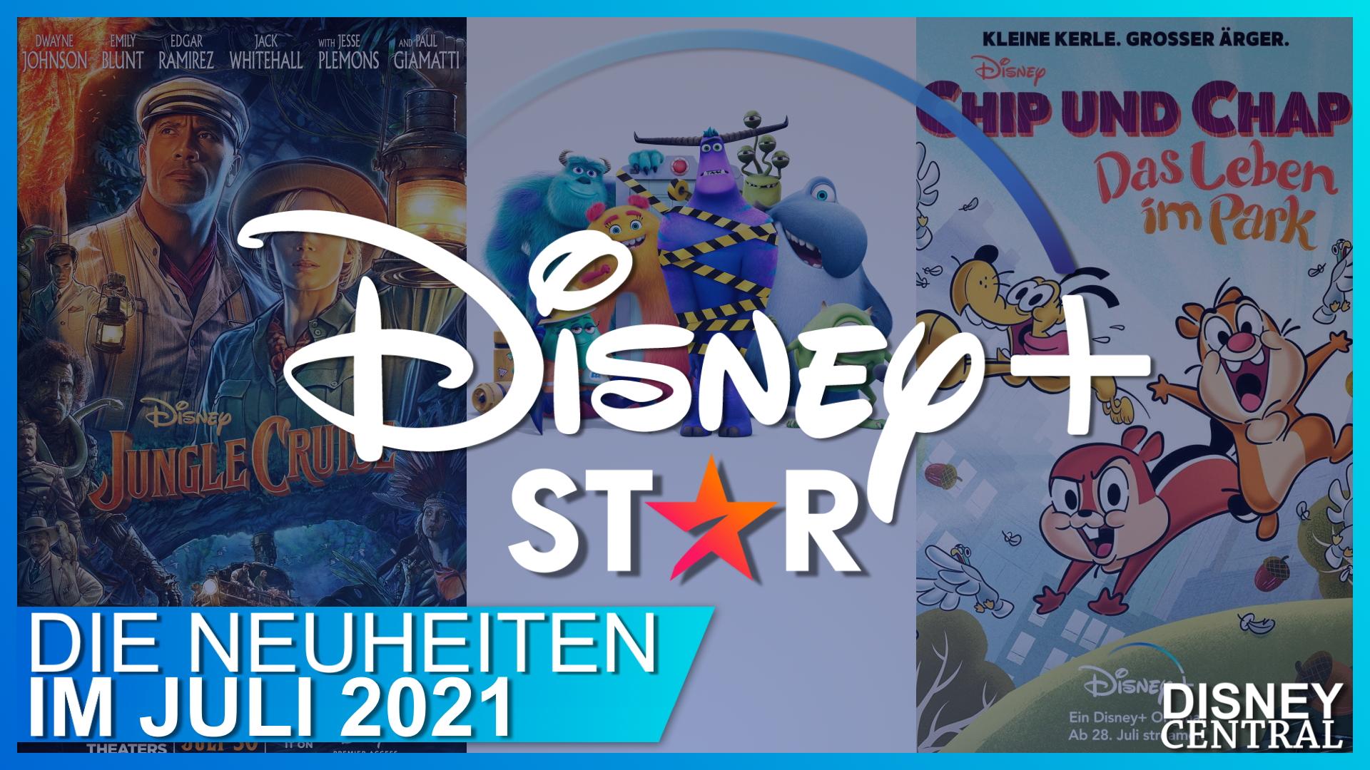 Disney+ Neuheiten im Juli 2021
