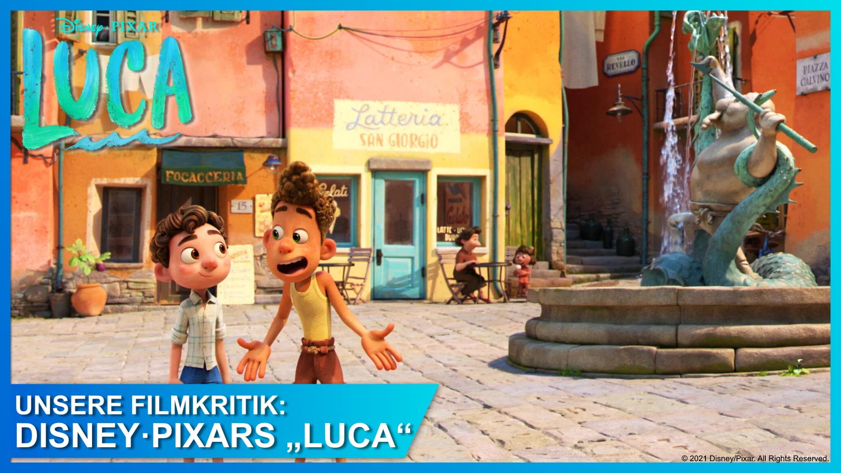 Disney/Pixars Luca Bewertung