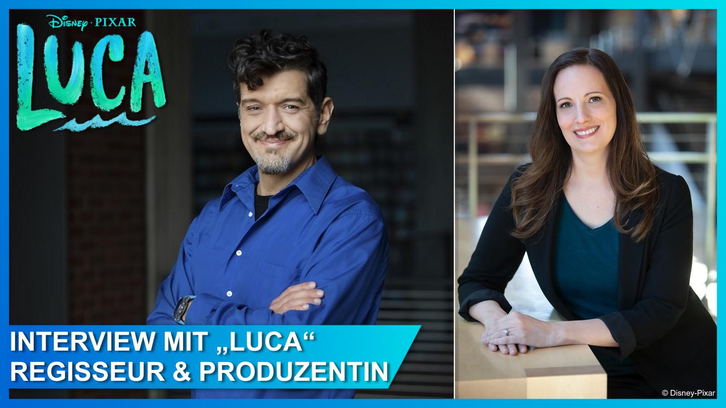 Regisseur Enrico Casarosa und Produzentin Andrea Warren im Interview über Disney-Pixars Luca