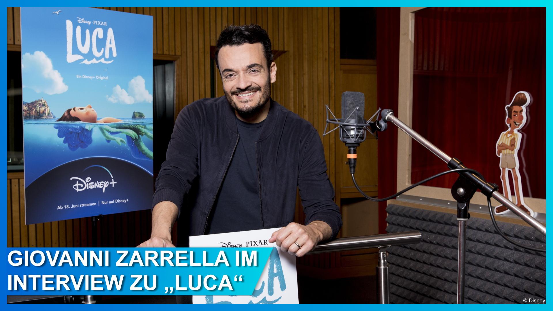 Giovanni Zarrella im Interview über seine Rolle in Disney-Pixars Luca