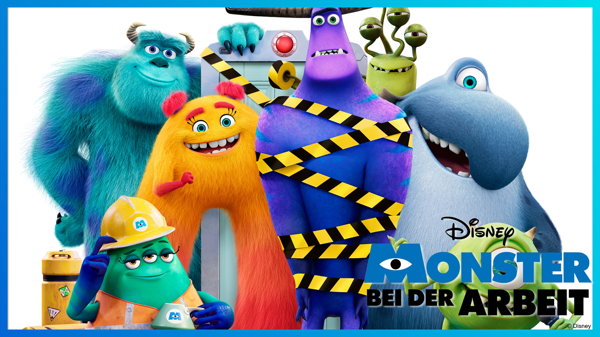 Alles zu Disney Monster bei der Arbeit