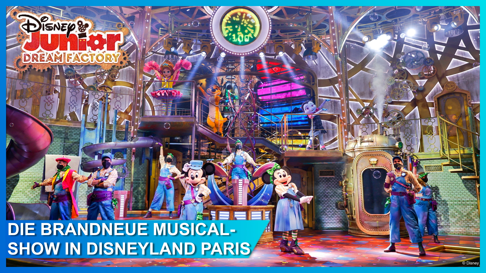 Disney Junior Dream Factory in Disneyland Paris