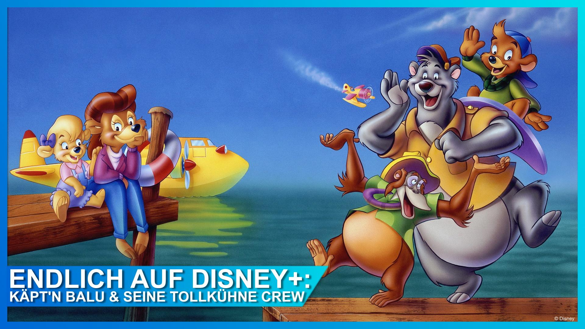 Käpt'n Balu & seine tollkühne Crew Disney+