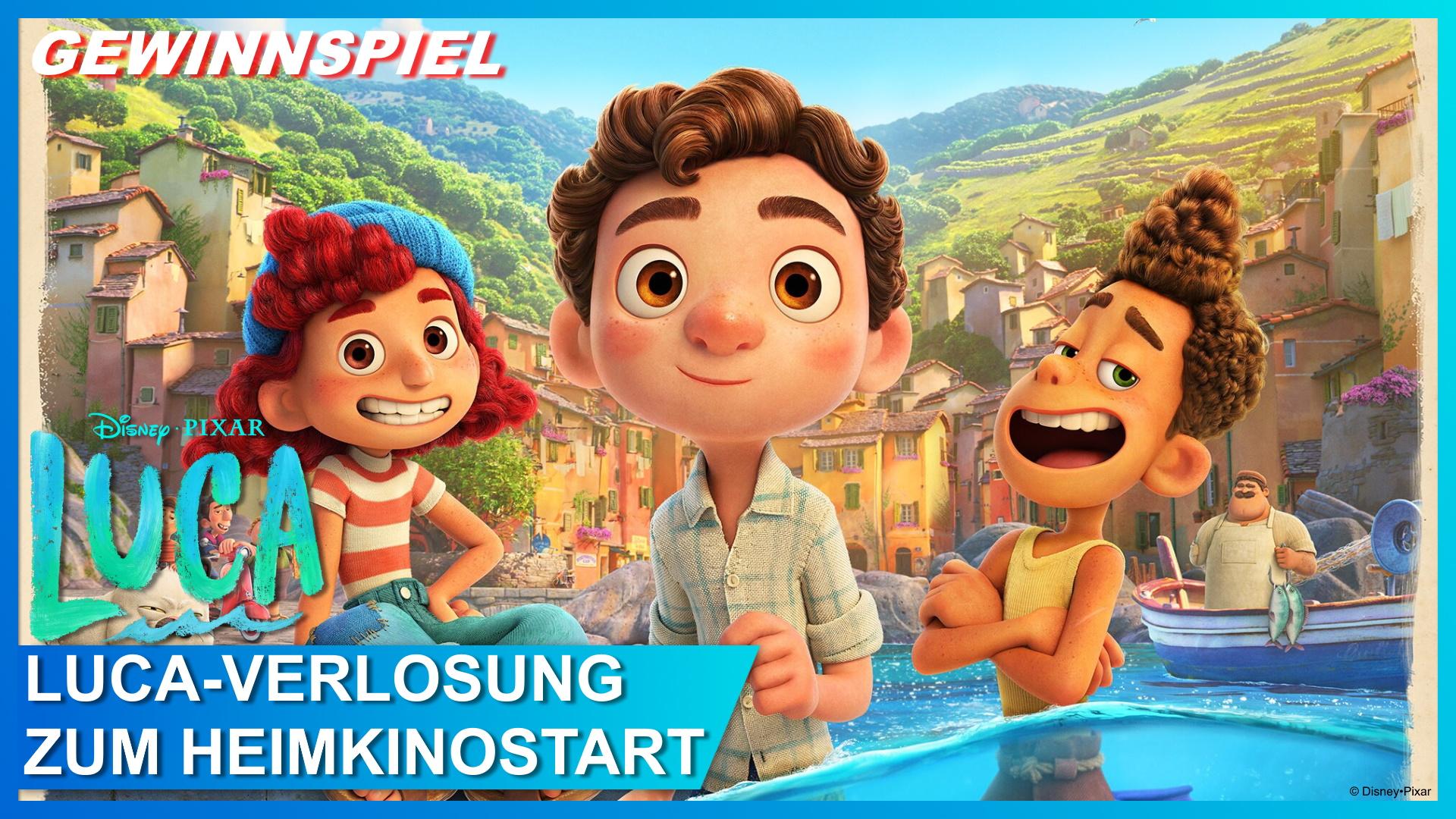 Disney/Pixar Luca Heimkino Blu-ray Verlosung