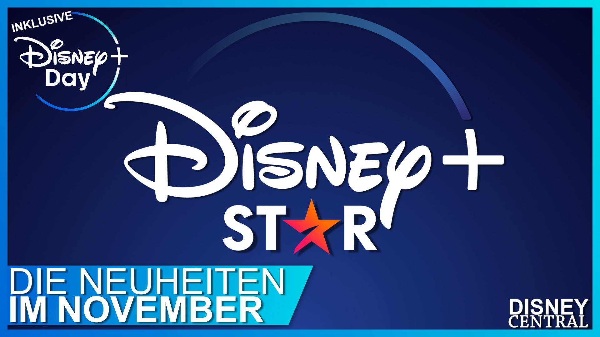 Disney+ Neuheiten November 2021
