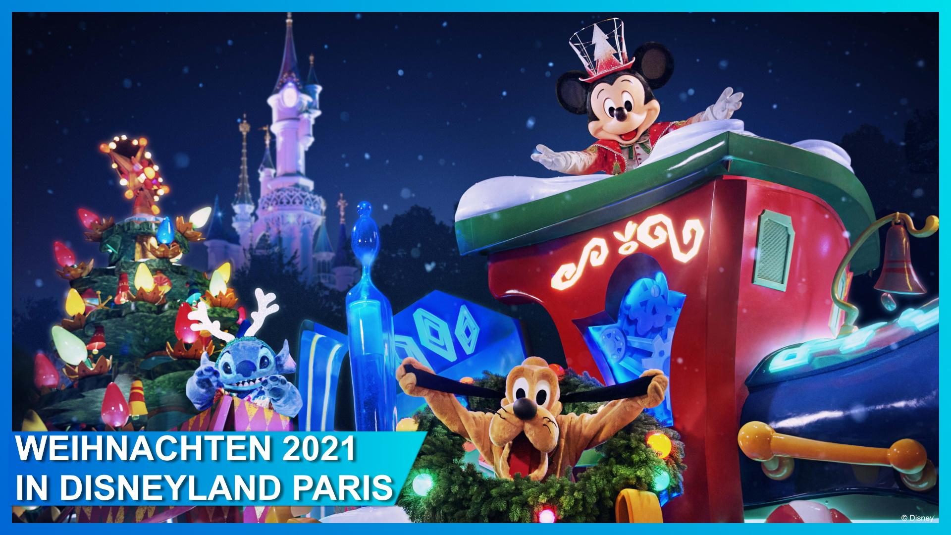 Disneyland Paris Weihnachten 2021