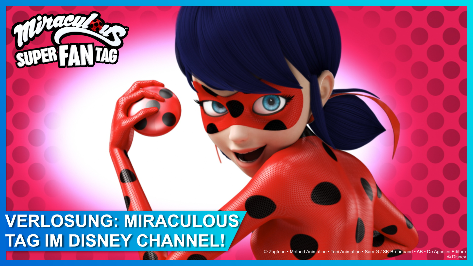 Gewinnspiel: Miraculous-Tag im Disney Channel